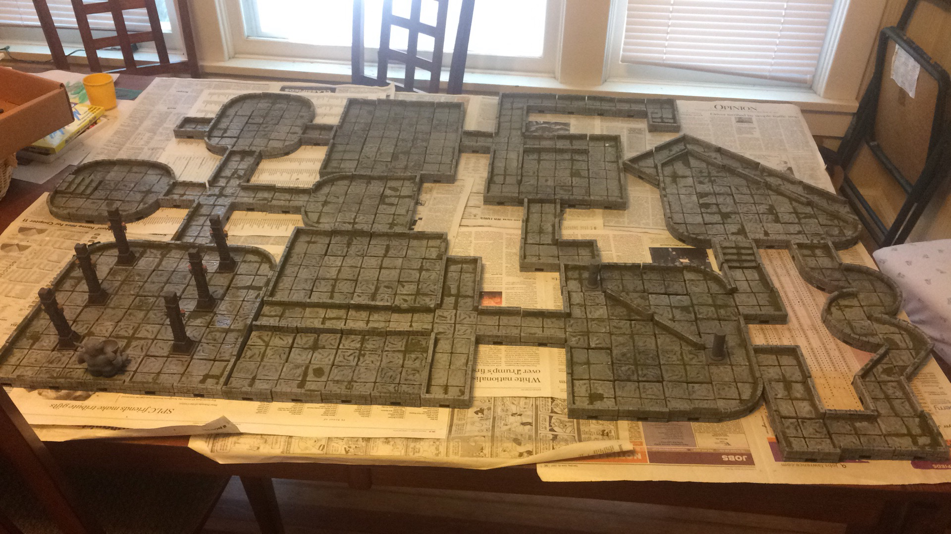 picture about 3d Printable Dungeon Tiles known as The Dungeon Tile Challenge - Jeremiah Tolbert